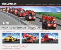 Spektakuläre Einsatzbilder auf der neuen Website von Hölldobler