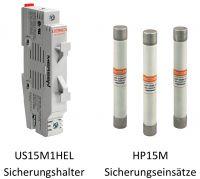 1500 V DC Sicherungseinsätze und kombinierte Sicherungshalter  für die Photovoltaik