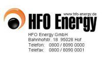 Strom vermitteln über den unabhängigen Energie-Distributor HFO Energy GmbH (Hof/Saale)…