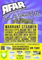 08. und 09.07.16 rock for animal rights 2016