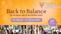 """1.Gesundheit-lenkt-Energie-Kongress """"Back to Balance"""""""