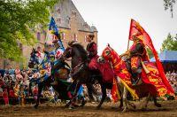 35. Ritterfestspiele auf Burg Satzvey an Pfingsten