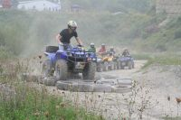 Quad Parcour im AdventureSteibruch
