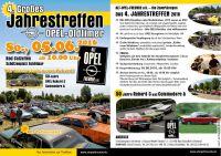 """Alt Opel Freunde e.V. - Großes Jahrestreffen 2016 mit """"Großem Teilemarkt"""""""