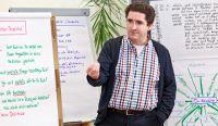 Dozent RA Bernhard Böhm während der Mediationsausbildung