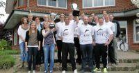 Die Titelträger-Teams von 2012 treten am 25. und 26. Mai wieder an, um sich für die Moorfußball-WM in Finnland zu qualifizieren.