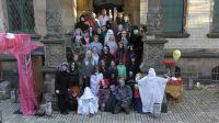 Das Halloween-Team zum Gruselgarten Villa St. Remo