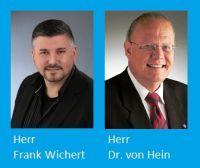 Herr Wichert und Herr Dr. von Hein