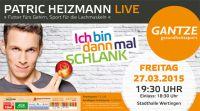 PATRIC HEIZMANN live in Wertingen
