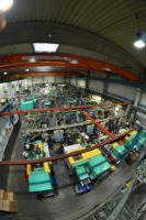 Blick in die Produktion von Beoplast in Langenfeld