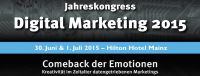 "Handelsblatt Jahrestagung ""Digital Marketing 2015"""