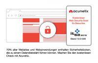 Acunetix präsentiert automatisierte Scans für Websites und Webanwendungen auf der it-sa