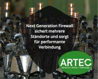 ARTEC schützt Standorte mit Next Generation Firewall von Cyberoam