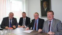 Breitbandversorgung – IfKom im Gespräch mit Bundestagsabgeordneten Reinhold Sendker
