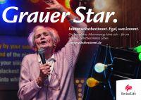 """Mit """"Grauem Star"""": Swiss Life startet Werbekampagne mit älteren Menschen für ein selbst bestimmtes Leben"""