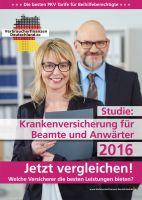 Studie: Krankenversicherung für Beamte und Anwärter 2016