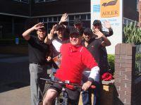 Von Cardiff ins Saarland – mit dem Fahrrad!