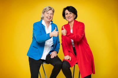 Edda Möllers und Barbara Rottwinkel-Kröber zeigen Frauen eine neue berufliche Perspektive auf