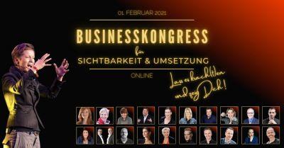 """Speaker des Business-Kongresses """"Lass es krach(t)en und zeig Dich"""""""
