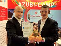 Gold für das Azubi-Camp beim Europäischen Preis 2016/2017 des BDVT. Konzept u. Durchführung: agateno (Köln)