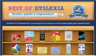 Best of Dyslexia: Bewährte, geprüfte und ausgezeichnete Legasthenie- und Dyskalkuliematerialien