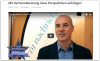 Blog des Kulmbacher Personalberaters Hans Ulrich Gruber erhält Auszeichnung
