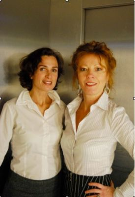 Die beiden Institutsleiterinnen Petra Rosar (links) und Birgit Walter (rechts)
