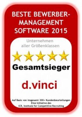 d.vinci Bewerbermanagementsystem
