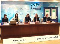 Pressekonferenz in Spanien mit der bbw Projektleitung von MobiPro-EU und den Partnern vor Ort