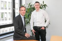 Geschäftsführer Alexander Wilms und Daniel Moor von der SIEDA GmbH