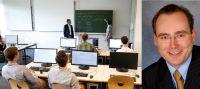 Das Herman Hollerith Zentrum in Böblingen bietet ideale Lehr- und Forschungsbedingungen, Prof. Dr. Alexander Rossmann (rechts).