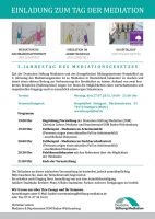 Tag der Mediation in Stuttgart am 27.07.2015 im Hospitalhof in Stuttgart