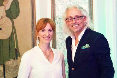 Merle Losem, Geschäftsführerin der Deutschen Hotelakademie (DHA) und Bernhard Patter (diavendo).
