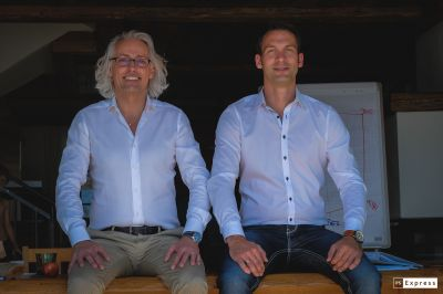 Bernhard Patter und Steffen Schock, Inhaber von diavendo (v.l.n.r.). Fotoquelle: diavendo.