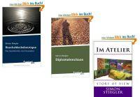 die drei veröffentlichten Bücher Kuscheldeckeboutique, Diplomatenchaos & im Atelier zeigen sich einem großen Publikum und begeiste