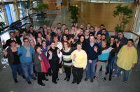 Verabschiedung der kaufmännischen Kurse im Berufsförderungswerk München - Januar 2013