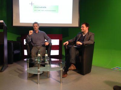 Tom Bartels im Gespräch mit Prof. Dr. Matthias Degen