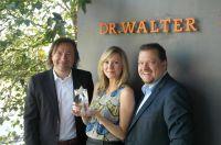 v.l.n.r.: Reinhard Bellinghausen, Geschäftsführer, Andreea Hoinkis und René Gillet