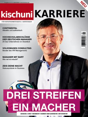 Das neue Magazin kischuni KARRIERE - Ab dem 19.03.2014 im Zeitschriftenhandel