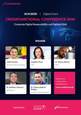 X-Conference 2020 - Motto: Digitale Verantwortung und Digitale Ethik