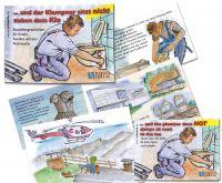 Das Vorlesebuch für Kinder über den Klempnerberuf mit schönen Illustrationen.