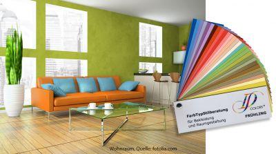 Fruehlingsfarben im Wohnbereich