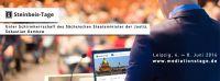 2. Leipziger Mediationsforum - Die Steinbeis-Tage in Leipzig