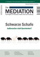 """Aktuelle Ausgabe des Fachmagazins """"Die Mediation"""""""