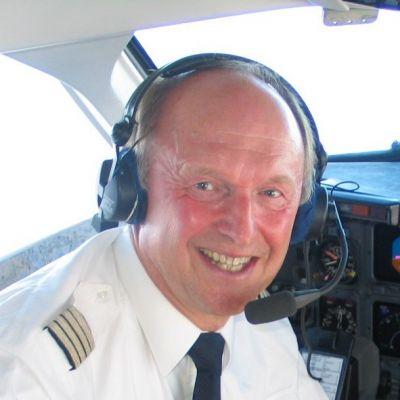 Pilot und Ausbilder Helmuth Lage, Nürnberg