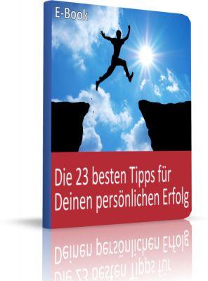 """E-Book """"Die 23 besten Tipps für Deinen persönlichen Erfolg"""" von GripsCoachTV. Gratis für jede Bestellung unter www.azubishop24.de."""