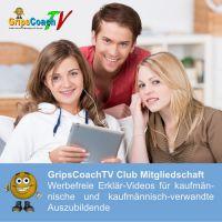 Im GripsCoachTV Club bekommen Auszubildende werbefreie und/oder exklusive Erklär-Videos für die Prüfungsvorbereitung.
