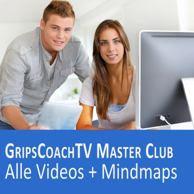 GripsCoachTV Master Club Videos + Mindmaps + 3 Boni