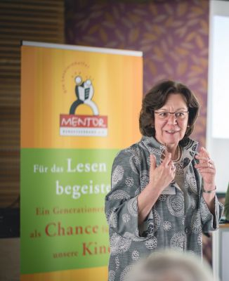 Margret Schaaf, 1. Vorsitzende, MENTOR - Die Leselernhelfer Bundesverband e.V. © Christoph Bastert PHOTOGRAPHIE