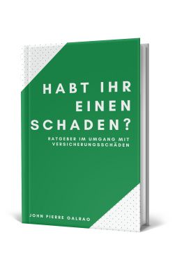 """Buch: """"Habt ihr einen Schaden"""" von John Pierre Galrao"""